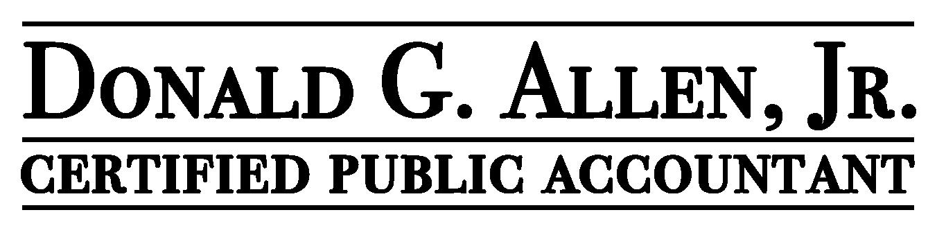 Donald G Allen Jr., CPA